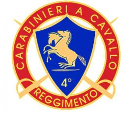 Carabinieri a cavalli 4 Reggimento
